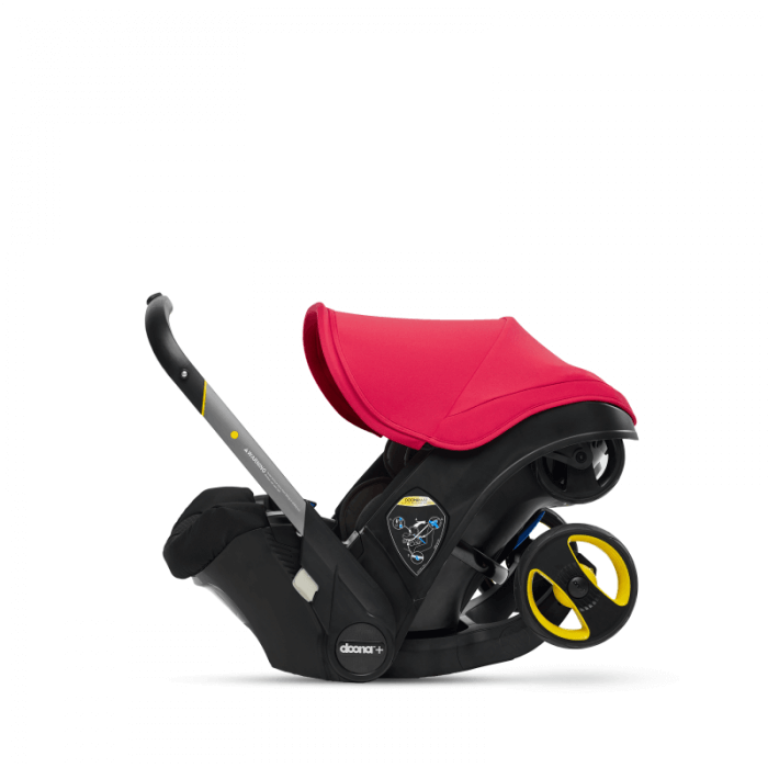 Doona Group 0+ Car Seat Stroller - Flame Red 3