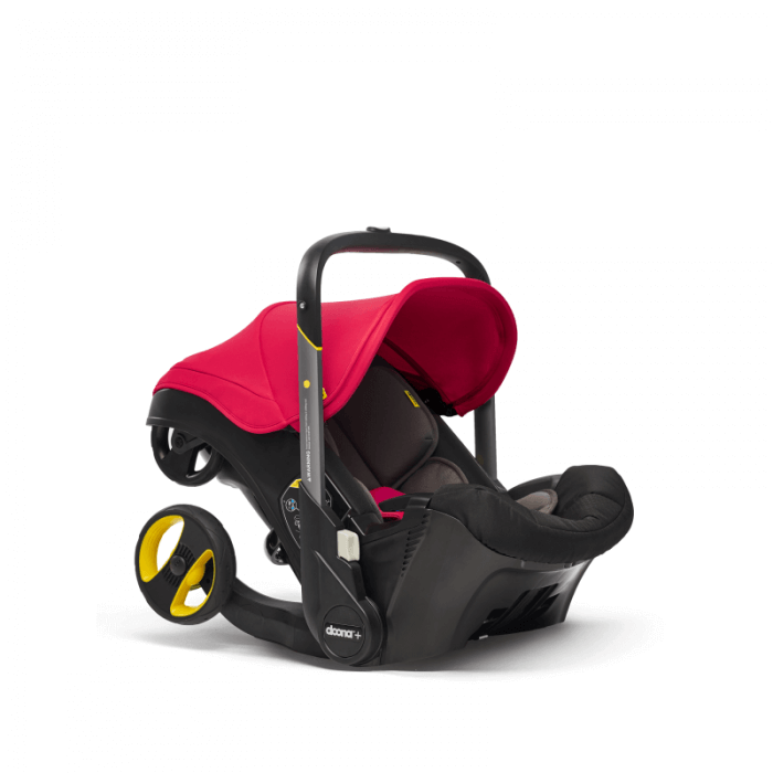 Doona Group 0+ Car Seat Stroller - Flame Red 4