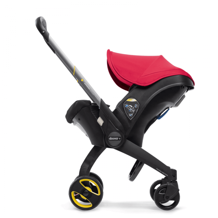 Doona Group 0+ Car Seat Stroller - Flame Red 6