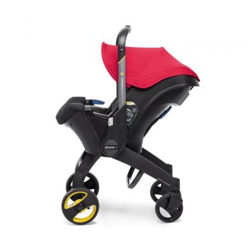 Doona Group 0+ Car Seat Stroller - Flame Red 8