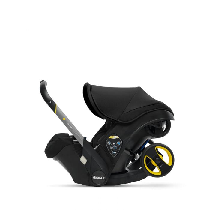 Doona Group 0+ Car Seat Stroller - Nitro Black 5