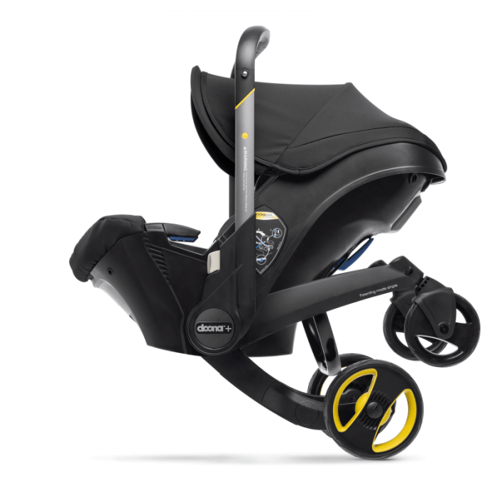 Doona Group 0+ Car Seat Stroller - Nitro Black 8