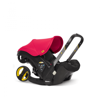 Doona Group 0+ Car Seat Stroller - Flame Red 1