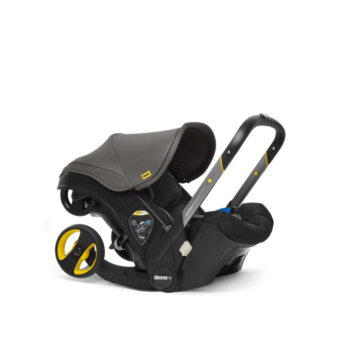 Doona Group 0+ Car Seat Stroller - Urban Grey 1