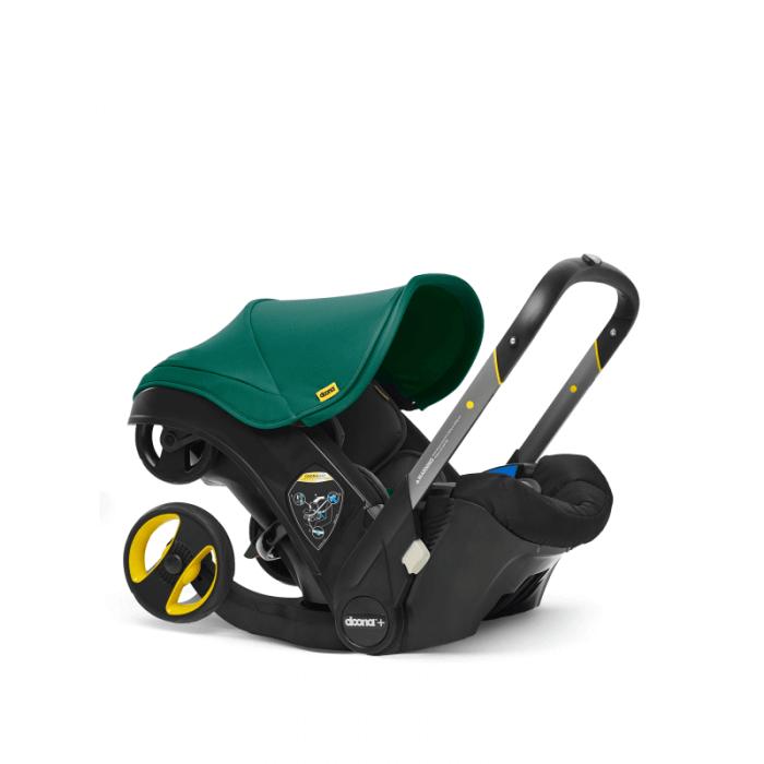 Doona Group 0+ Car Seat Stroller - Racing Green 1