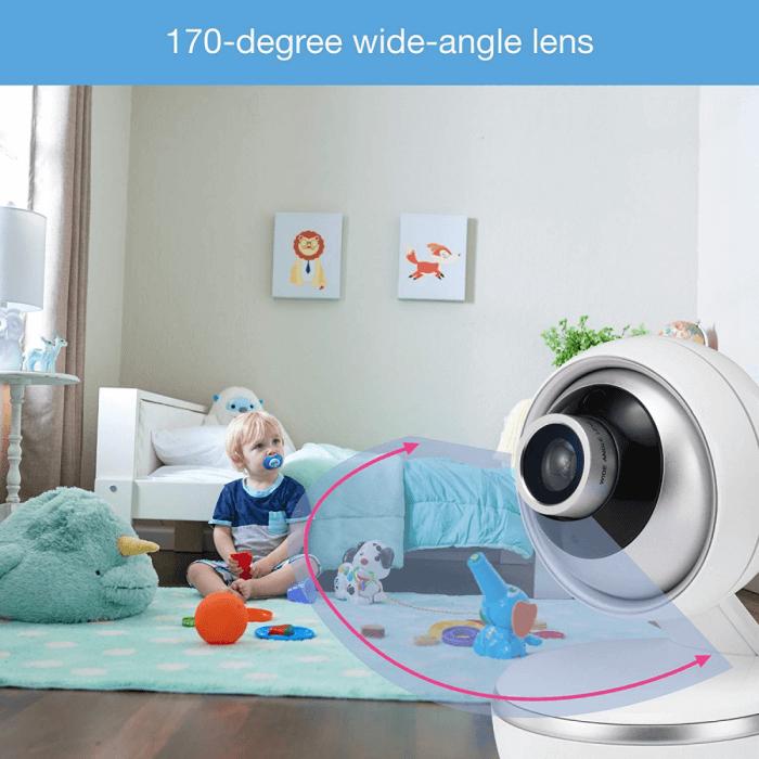 VTech Safe & Sound 5 inch Video Baby Monitor - VM5261 5