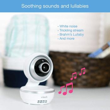 VTech Safe & Sound 5 inch Video Baby Monitor - VM5261 6