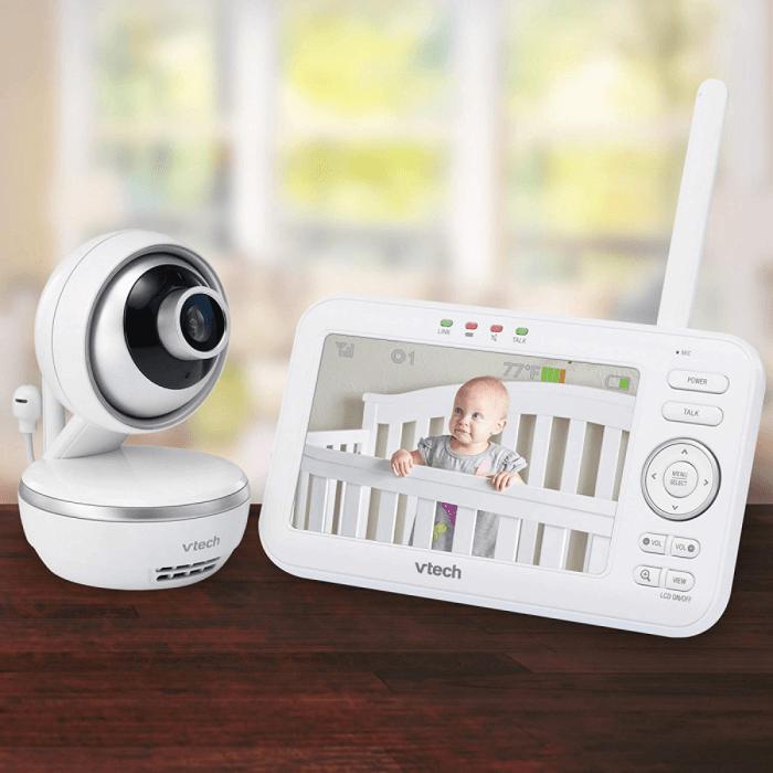 VTech Safe & Sound 5 inch Video Baby Monitor - VM5261 9