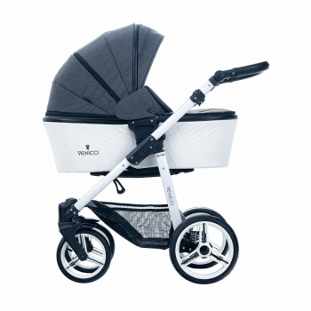 Venicci-Pure-3-in-1-Travel-System-Denim-Black
