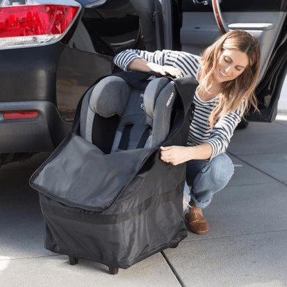 JL Childress Wheelie Car Seat Travel Bag - Black 1