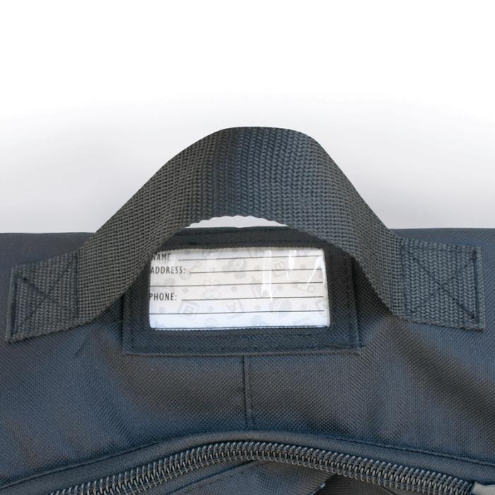 JL Childress Wheelie Car Seat Travel Bag - Black 3