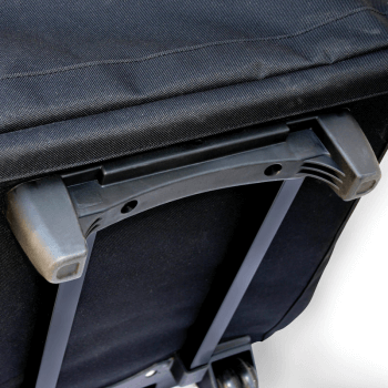 JL Childress Wheelie Car Seat Travel Bag - Black 5