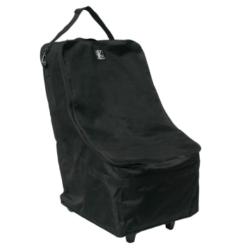 JL Childress Wheelie Car Seat Travel Bag - Black 6