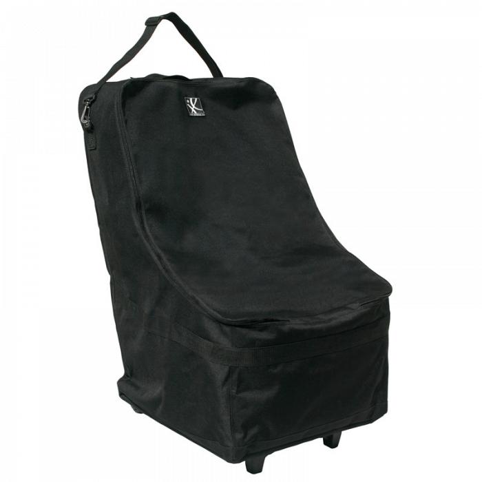 JL Childress Wheelie Car Seat Travel Bag - Black 6