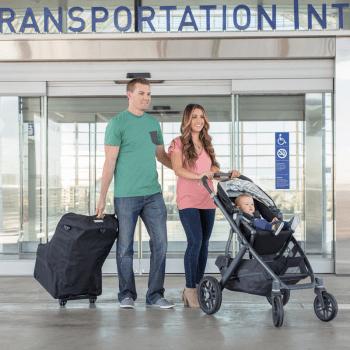 JL Childress Wheelie Car Seat Travel Bag - Black 7