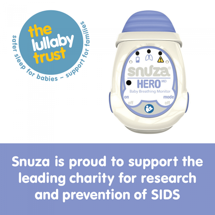 Snuza Hero Medically Certified Baby Breathing Monitor