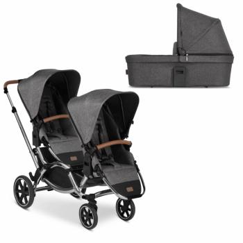 ABC Design Zoom Double Tandem Pushchair + Carrycot