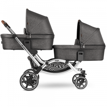 ABC Design Zoom Double Tandem Pushchair Carrycot