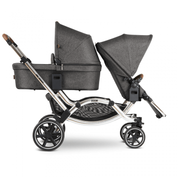 ABC Design Zoom Double Tandem Pushchair Carrycot and Seat