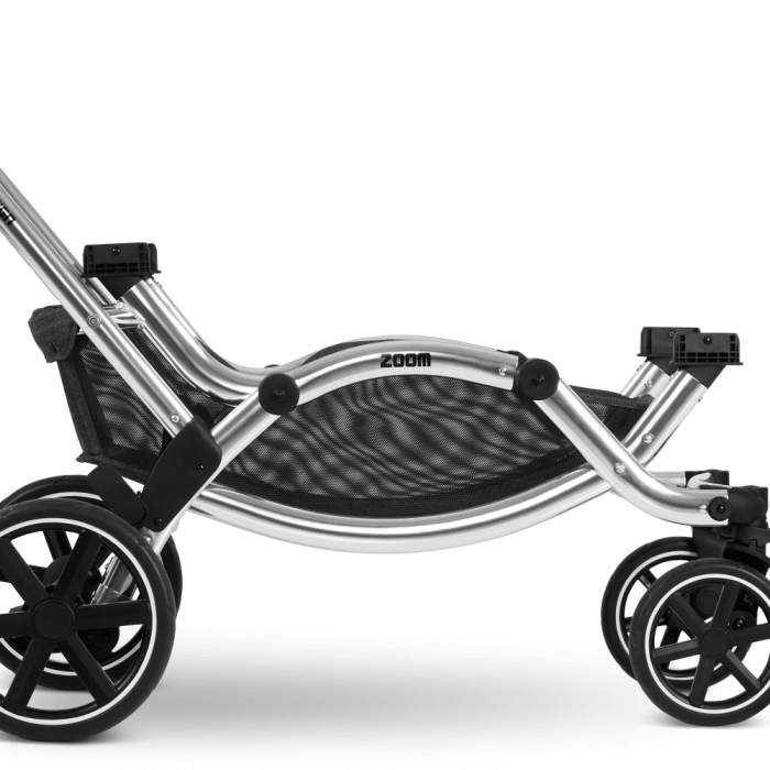 ABC Design Zoom Double Tandem Pushchair Close up Chassis