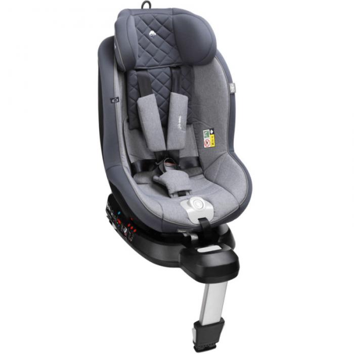 mee-go swirl 360 car seat pebble grey older
