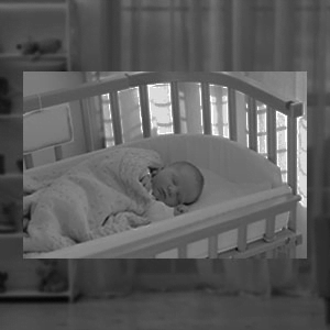 Callowesse RoomView Baby Monitor Automatic Night Vision