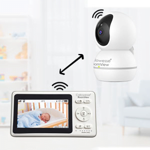 Callowesse RoomView Video Baby Monitor Two Way Talkback