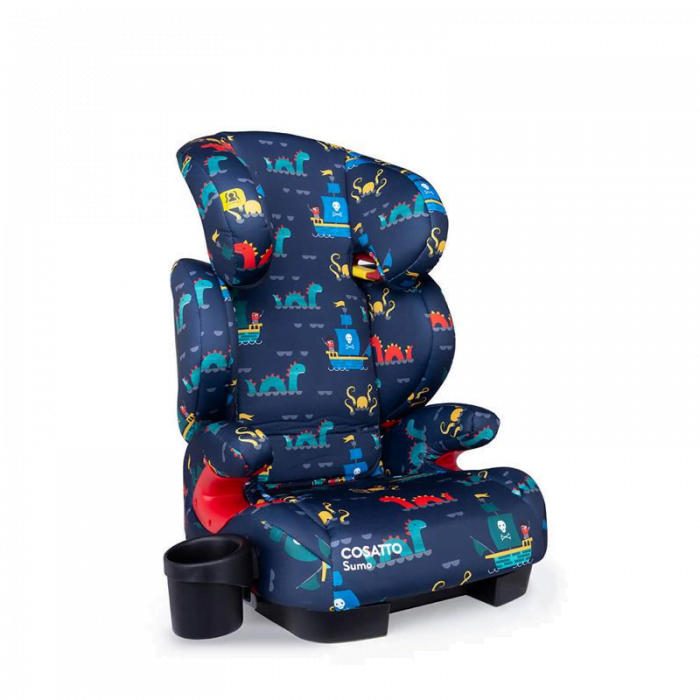 Cosatto Sumo Group 2/3 ISOFIT Car Seat - Sea Monsters