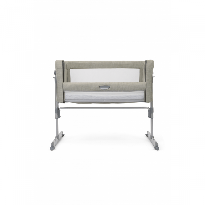 Joie Roomie Glide Side Sleeping Crib - Almond front