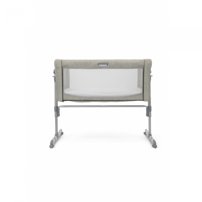 Joie Roomie Glide Side Sleeping Crib - Almond front up