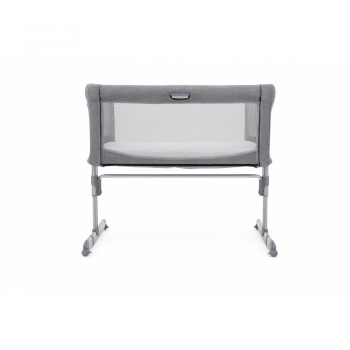 Joie Roomie Side Sleeping Crib - Grey Flannel up (2)