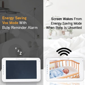 Callowesse SmartView Energy Saving VOX Mode Noise Detection