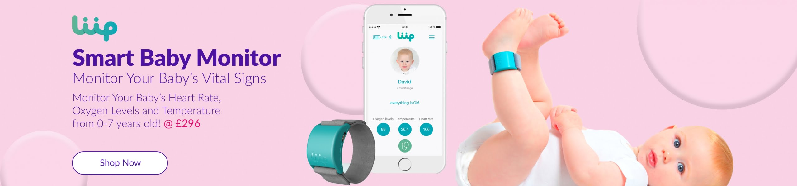 Liip Smart Baby Monitor