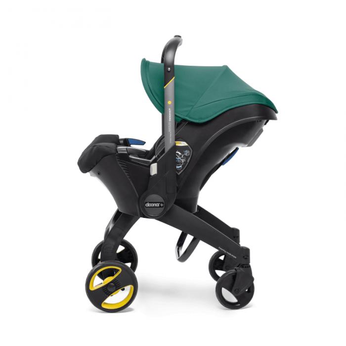 doona racing green stroller