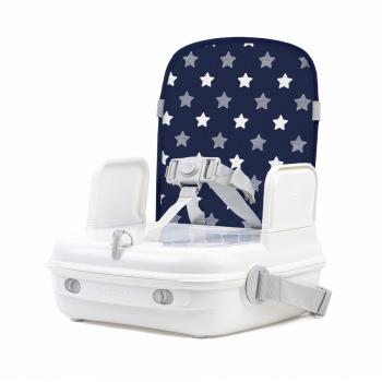 Benbat Yummigo Booster/Feeding Seat with Storage Compartment Base - Navy/Stars- Main Image