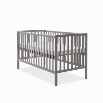 Bantam Cot Bed- Taupe Grey- Height Adjusted