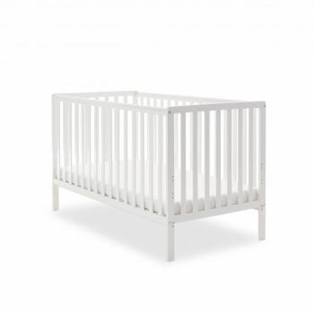Bantam Cot Bed- White- Main Image
