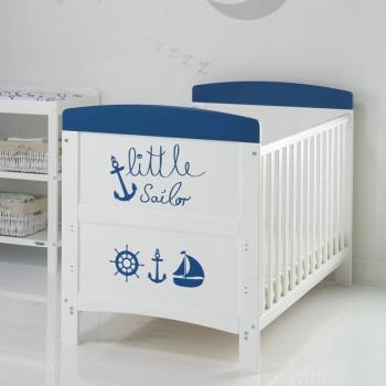 Grace Inspire Cot Bed- Little Sailor- Lifestyle