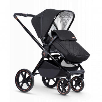 Venicci Tinum Special Edition- Pushchair with footmuff Left side