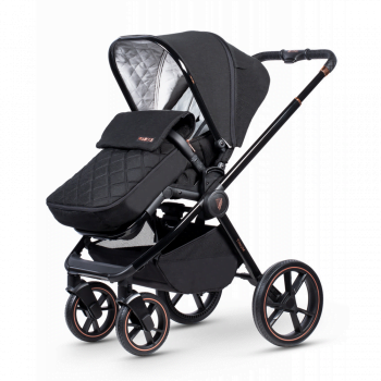 Venicci Tinum Special Edition- Pushchair with footmuff right side