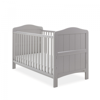 Whitby Cot Bed- Warm Grey - Main Image