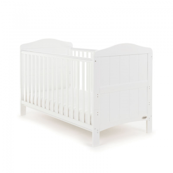 Whitby Cot Bed- White- Main Image