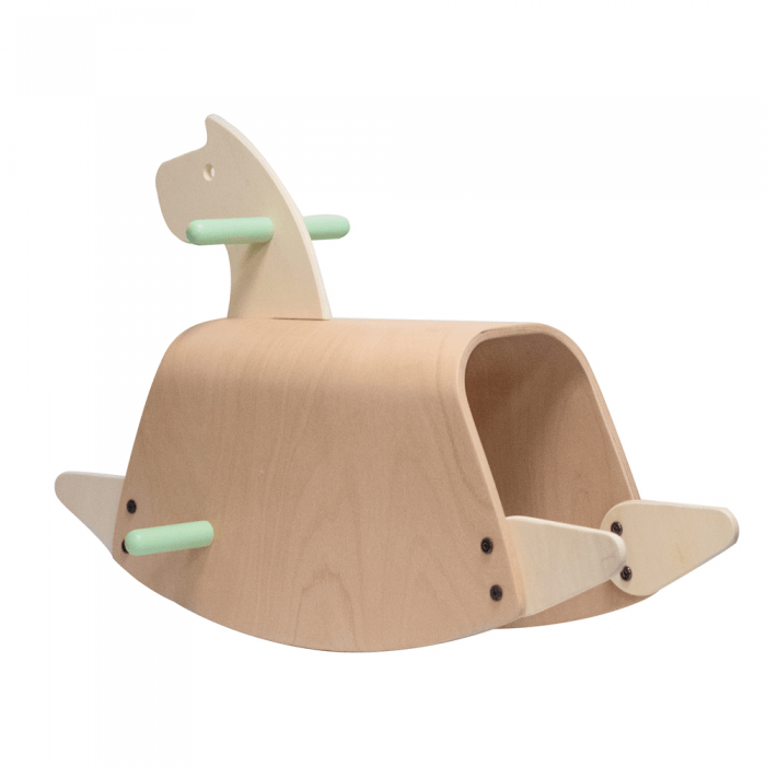 Callowesse Pinto Wooden Rocking Horse 3