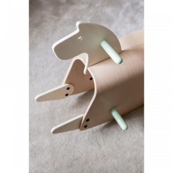 Callowesse Pinto Wooden Rocking Horse - 7