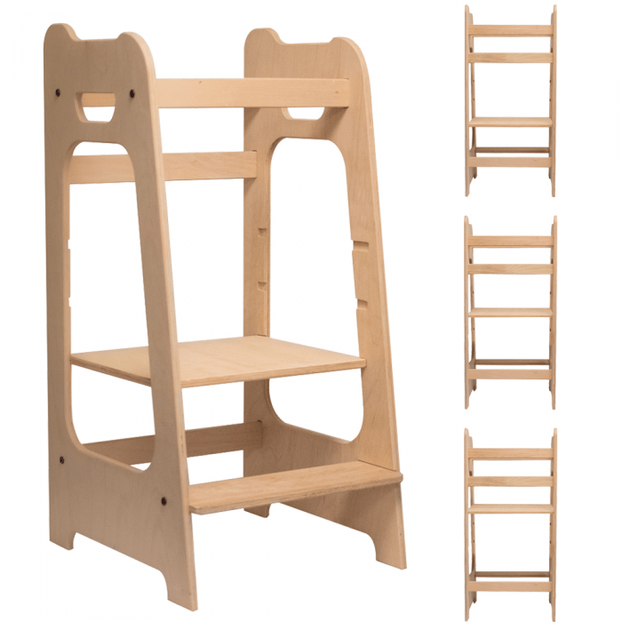 Callowesse Wooden Step-Up Learning Tower