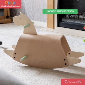 Pinto Wooden Rocking Horse