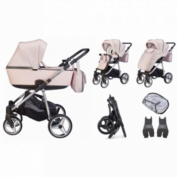 Mee-Go Santino Special Edition Travel System Package - Fairy Dust